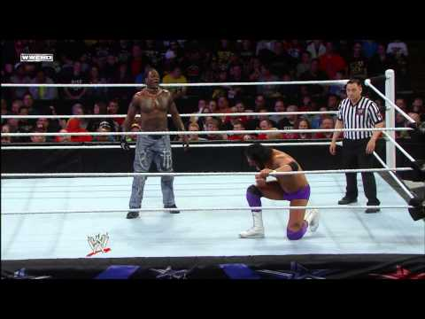 R-Truth vs. Damien Sandow: WWE Superstars, May 3, 2013