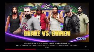 WWE 2K19 | Drake V Eminem | WrestleMania