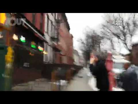 [WATCH] Commie Mayor Bill de Blasio jaywalks after preaching traffic safety