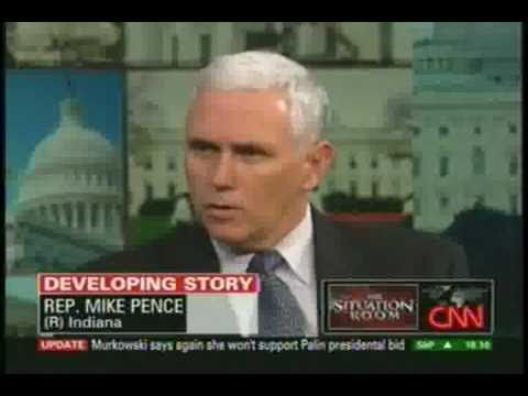 REPUBLICAN MIKE PENCE SAYS FUCK ALL AMERICANS UNDER 40 -  NO SOCIAL SECURITY OR MEDICARE FOR YOU