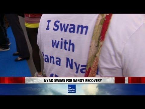 Stephanie Abrams Swims with Diana Nyad