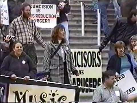Genital Integrity - March on Washington DC 2001 thumbnail