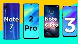 Top 5 Camera Smartphone | Redmi Note 7 | Realme 2 Pro ft Realme 3