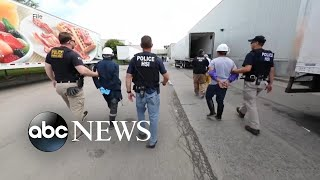 ICE begins roundups of undocumented immigrants