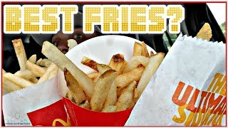 BEST FAST FOOD FRENCH FRIES | MCDONALD'S | BURGER KING | WENDY'S