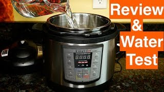 Instant Pot Mini Lux Review Water Test