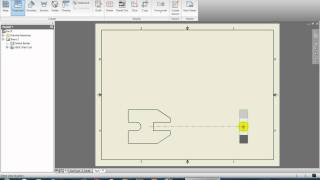 "Autodesk Inventor for Beginners - ""Creating a Blueprint Part 2/2"" - Lesson 5"