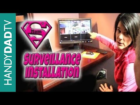 Home Surveillance Installation - Costco Lorex 8-channel HD DVR