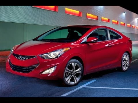2013 Hyundai Elantra Coupe Start Up and Review 1.8 L 4-Cylinder