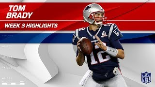 Tom Brady Throws 5 TDs in Clutch Comeback Win! | Texans vs. Patriots | Wk 3 Player Highlights