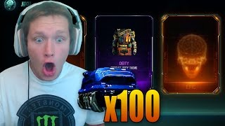 THE SECOND SUPPLY DROP?! (100x Rare Supply Drop Opening)
