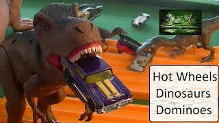 New Hot Wheels Car Featuring Dinosaurs and Dominoes