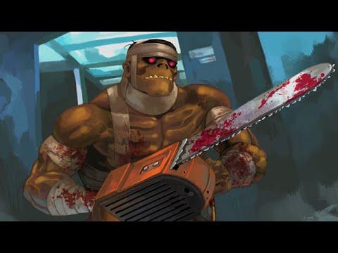 Zombie Warrior Man - CHUCK NORRIS!?!