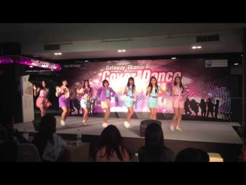 [150613] Crazy Queen cover A-pink (에이핑크) Hush @ Gateway Ekamai Cover Dance Contest 2013
