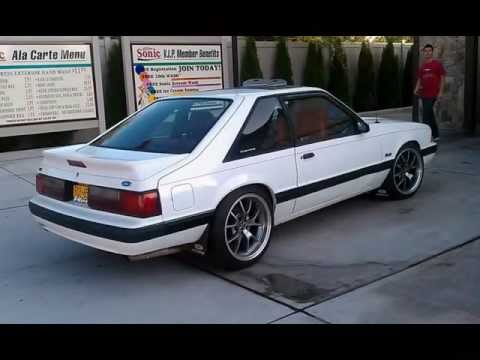 89 Mustang 5.0 Hatchback 1989 Ford Mustang lx 5.0 White