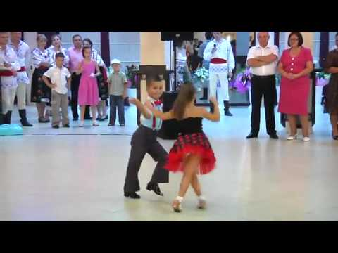 Young Kids Rock Ballroom Dancing [hq] video