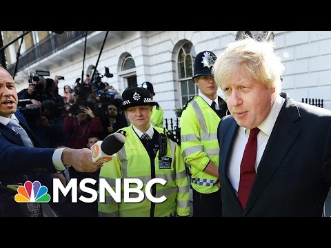 The Brexit Boys: Boris Johnson, Nigel Farage and David Cameron | All In | MSNBC