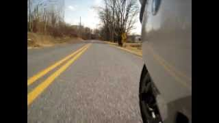 BMW K1300S 1st Test HomeBuilt Camera Mount Canon SD870
