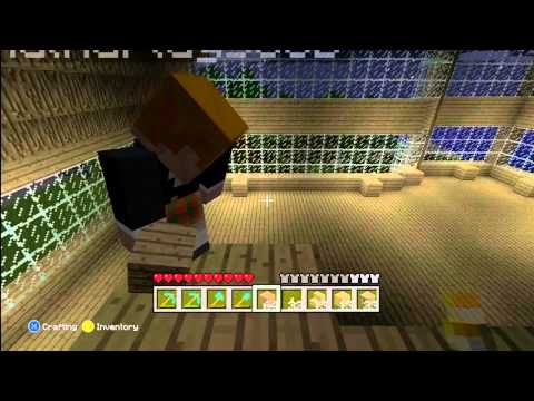 Minecraft Xbox 360 Edition | Part 7 | Huge Ass House On Top Of My Huge Ass House video