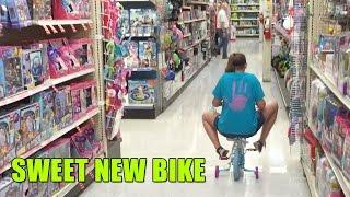 Sweet New Bike