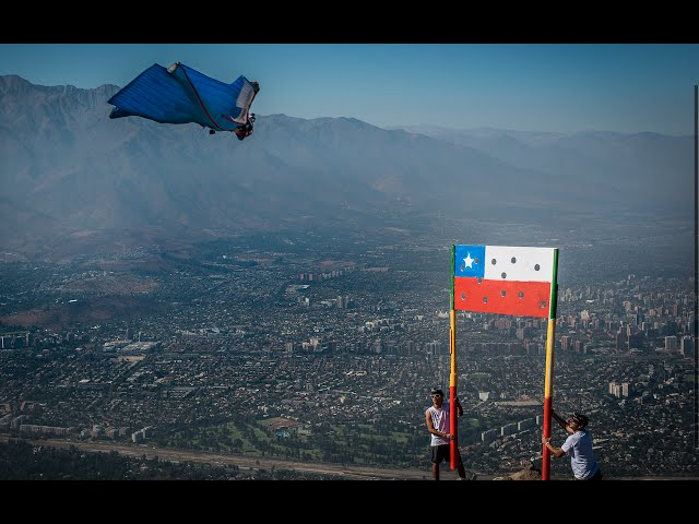 Sebastian Alvarez - Wingsuit Precision Flight VIVA CHILE!