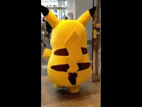 Real life Pikachu in Japan