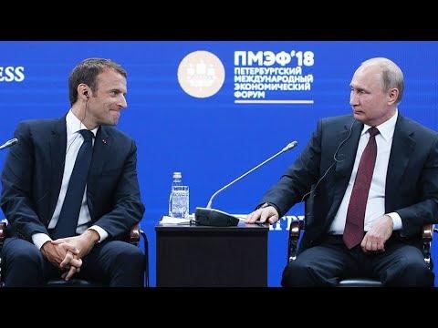 Выступление Владимира Путина на ПМЭФ-2018. Прямой эфир