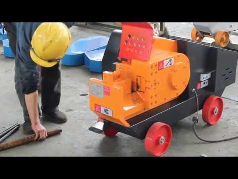 Станок для резки арматуры, серия электро