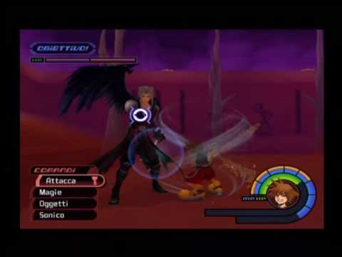 Kingdom Hearts (ITA)- BOSS SEGRETO- Sephiroth