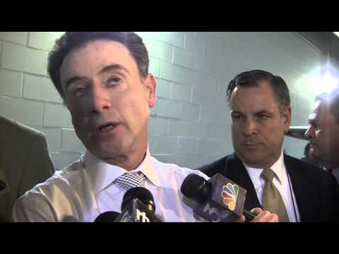 Rick Pitino Duke Elite 8 Post-Game 3-31-2013