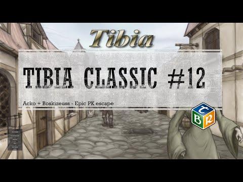 [Tibia Classic] Acko + Boskizeuss - Epic PK escape