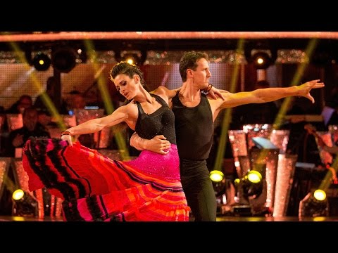 Kirsty Gallacher & Brendan Cole Paso Doble to 'Beautiful Day' - Strictly Come Dancing: 2015