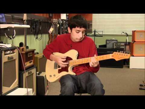 Buzz Feiten Guitar, ValveTrain Amp, Marsh Overdrive