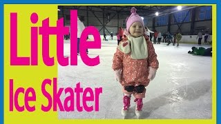 Pre-school Kids Ice Skating for First Time | Emma Timea