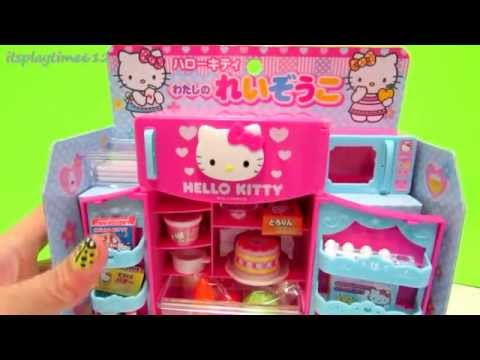 HELLO KITTY REFRIGERATOR TOY & MICROWAVE OVEN PLAYSET | itsplaytime612