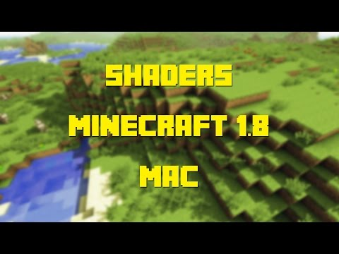 How to Install Shaders for Minecraft 1.8 (Mac)