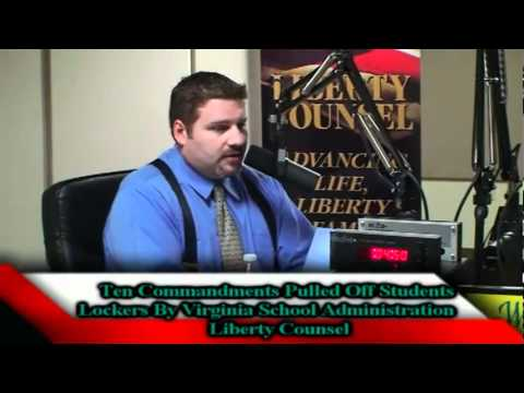 Ten Commandments Illegally Pulled Off Students' Lockers (Faith & Freedom  03-10-11)