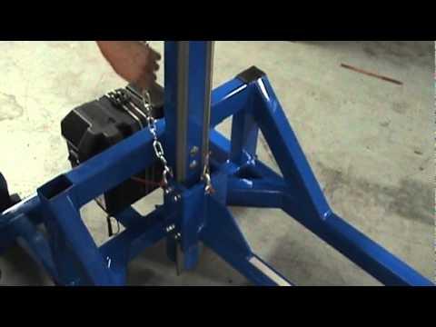 Hillbilly Concept Roll Lifter
