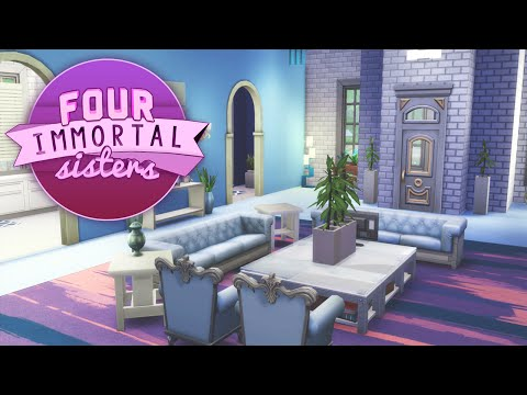 The Sims 4: Renovate | Four Immortal Sisters - Raina video