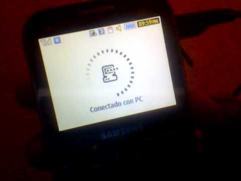 Ayuda con mi samsung chat 527 no agarra mi laptop los cables USB