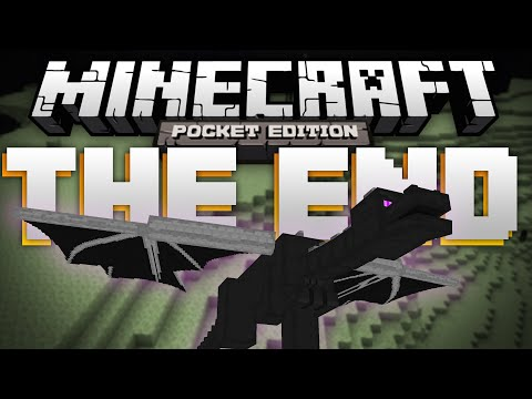 THE END in MCPE A Concept Video by ZeeSnipesMC Minecraft Pocket Edition
