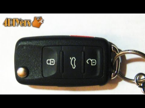 DIY: Volkswagen Key Fob Battery Replacement & Disassembly
