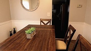 Modern and simple dining room idea+ some inexpensive decor and room tour