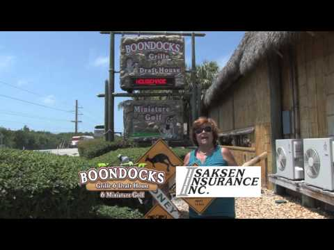 Promo for the Business Walkabout & Auctions at Boondocks Grille & Drafthouse, Florida Keys