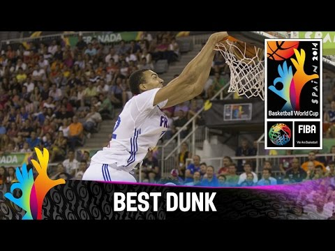 France v Brazil - Best Dunk - 2014 FIBA Basketball World Cup