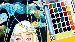 Sketchbook 2: Sakura Koi Watercolor ?( Giveaway!! ) ?