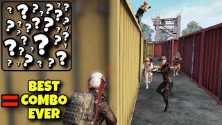 BEST COMBO EVER ! | SOLO VS SQUAD | PUBG MOBILE