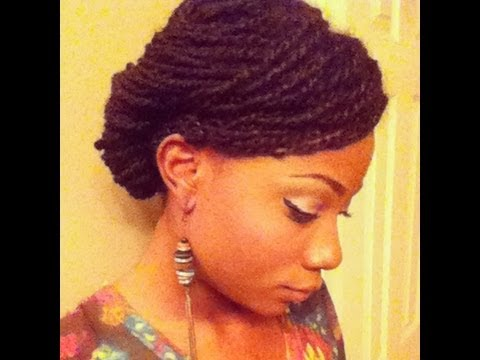 How Twist Natural Hair Twists on Natural Hair