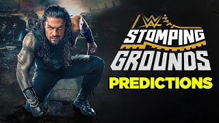 WWE Stomping Grounds Predictions
