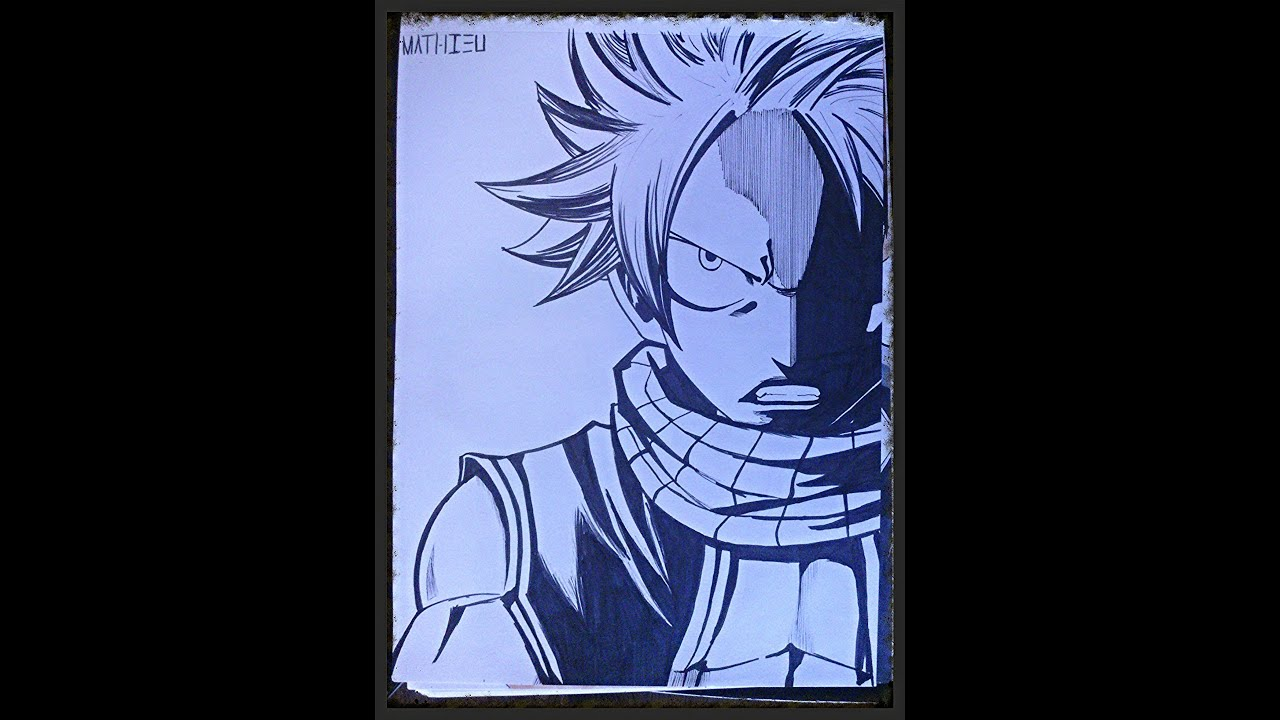 Fairy tail how to draw natsu angry comment dessiner natsu fmp contest youtube - Comment dessiner natsu ...